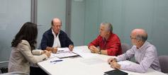 Reunión con el Ayuntamiento de Valencia