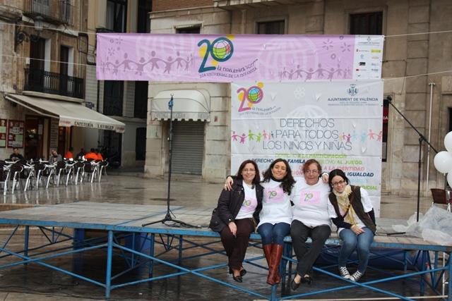 La Federación y las Asociaciones en el Día Universal de la Infancia