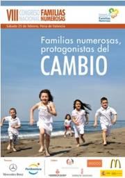 VIII Congreso Nacional de Familias Numerosas