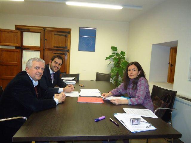Reunión con Raúl Cortés