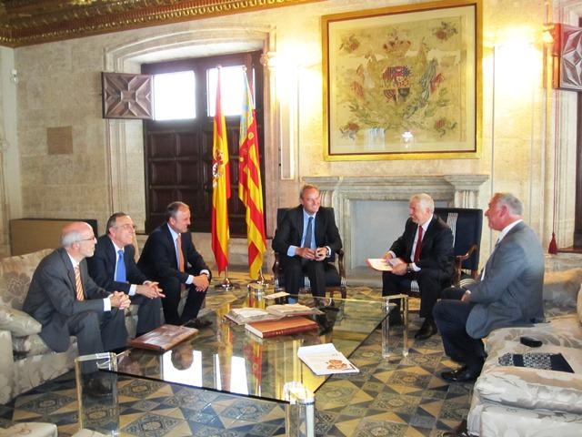 President con la Federación