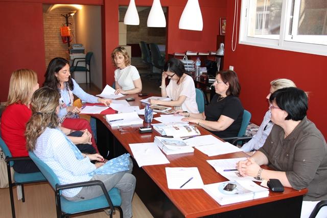 sesion de trabajo con las Asociaciones