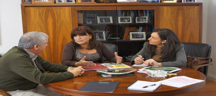 Diputación colaborará con la Federación