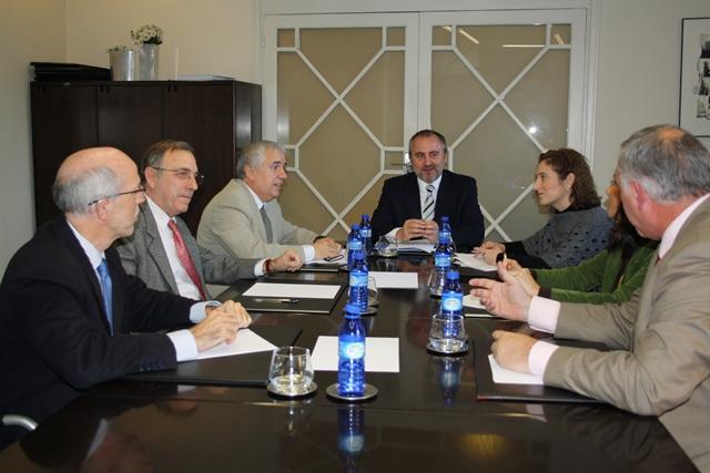 Reunión con el D. Jorge Cabré