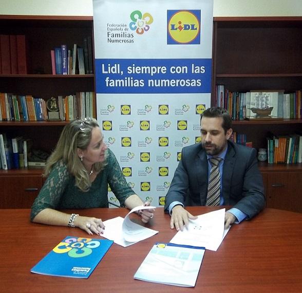 LIDL apuesta por las familias numerosas donando más de 10.000 euros para compras gratis