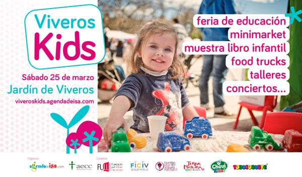 Nos vemos el sábado en Viveros Kids