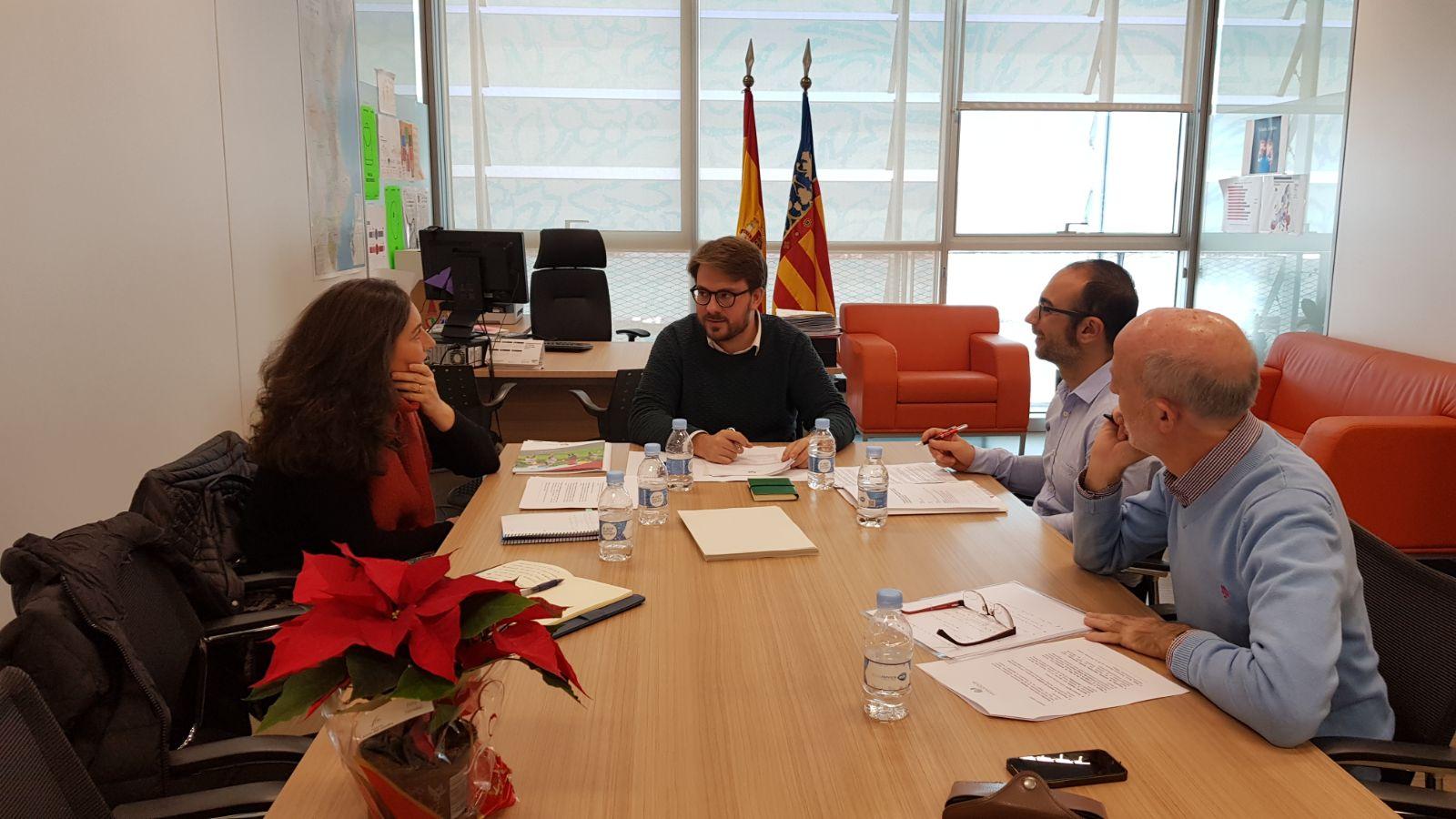 Reunión con la Generalitat Valenciana