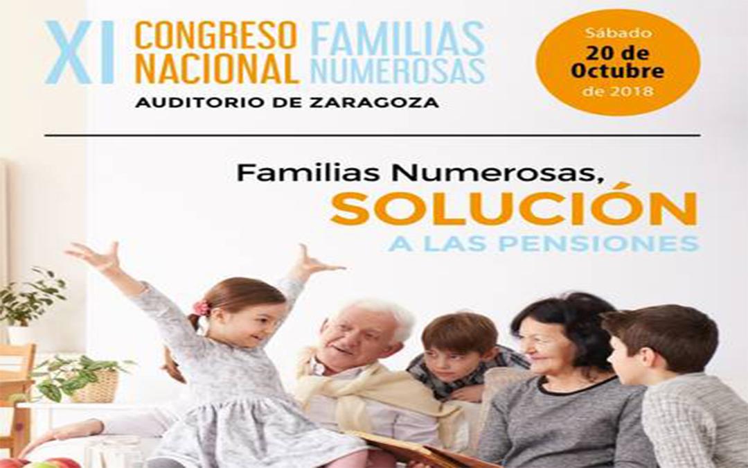 Zaragoza será la sede del próximo encuentro de Familias Numerosas de toda España