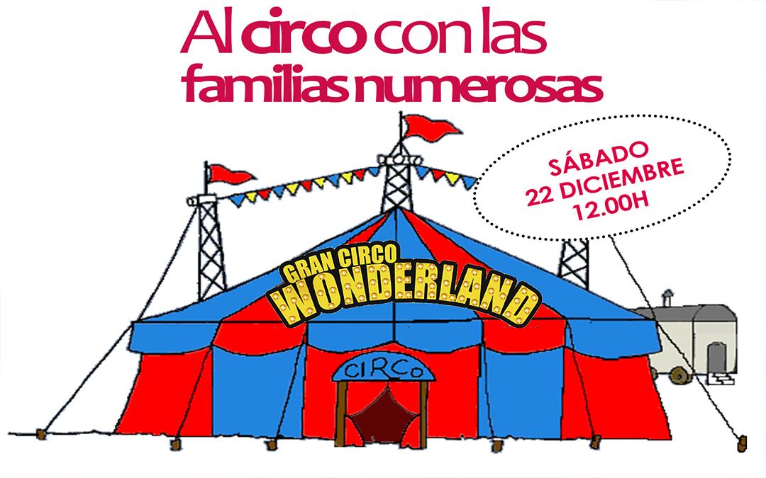 ¿Eres familia numerosa y quieres ir al Circo esta Navidad a un precio muy reducido?