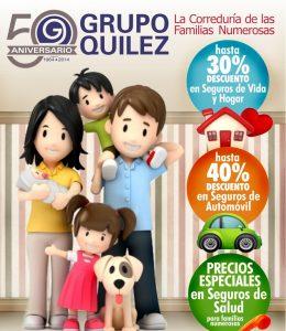 descuentos en seguros familias numerosas
