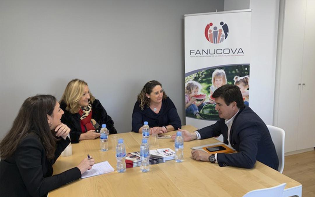 FANUCOVA traslada la necesidad de aprobar medidas que fomenten la natalidad