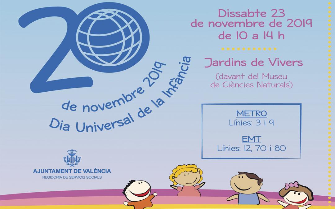 Ven a Viveros a celebrar con nosotros el Día Universal de la Infancia con talleres gratuitos