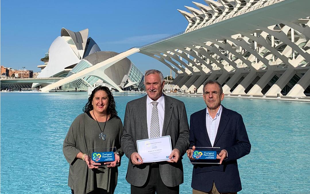 El Museo de les Ciències y el Hemisfèric reciben el Sello de Turismo Familiar que otorga la Federación Española de Familias Numerosas