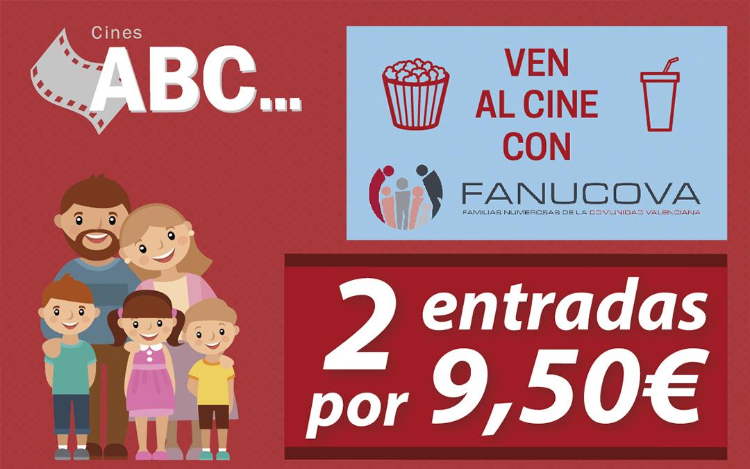 ¿Eres familia numerosa y quieres ir al cine a mitad de precio?