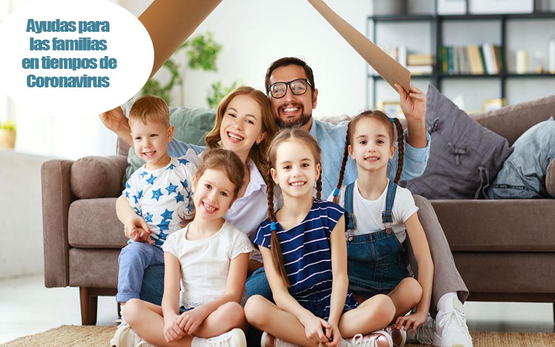 Todas las ayudas para las familias de la Comunidad Valenciana en tiempos de coronavirus
