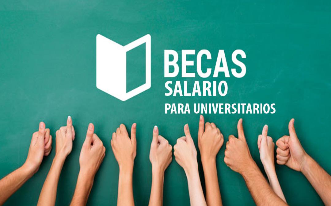 Ya se puede solicitar la beca salario para universitarios de la pública