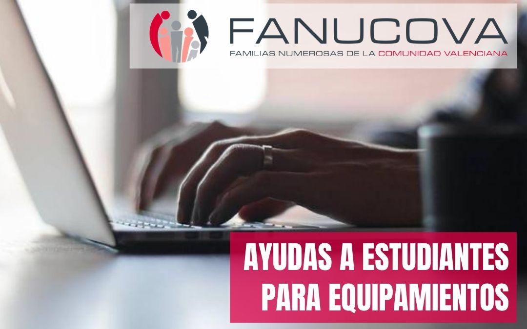 Ayudas para equipamientos informáticos a estudiantes de la Universidad de València