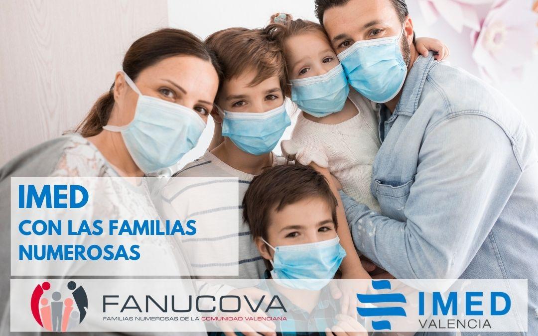 Nuevas ventajas para las familias numerosas gracias al acuerdo con Hospitales IMED