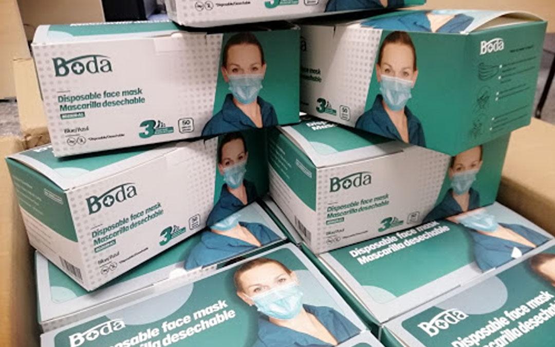 La Federación Española de Familias Numerosas dona a FANUCOVA 10.000 mascarillas para su asociados