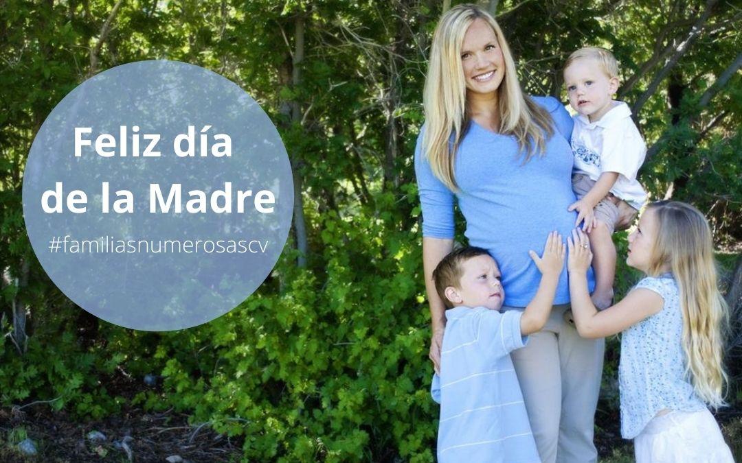 Familias numerosas solicitan apoyo a la maternidad