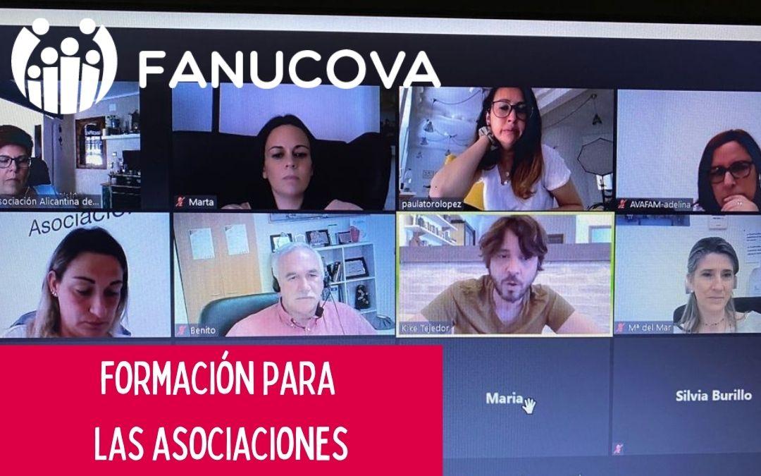 FANUCOVA organiza sesiones de formación para sus asociaciones