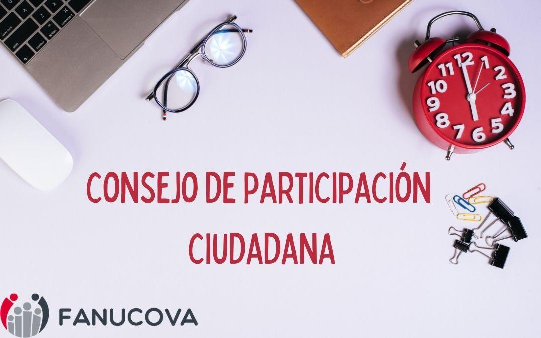 FANUCOVA participa en el Consejo de Participación Ciudadana